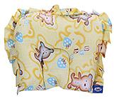Buy Littles Babu Pillow Bear Print Yellow