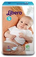 Libero Baby Diaper Small - 5 Pieces