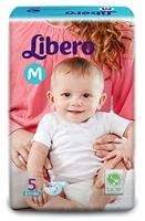 Buy Libero Baby Diaper Medium - 5 Pieces