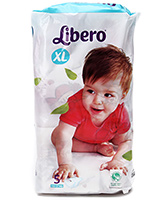 Buy Libero Baby Diaper Extra Large - 5 Pieces