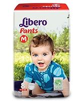 Buy Libero Pant Style Baby Diaper Medium - 8 Pieces