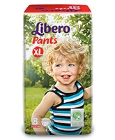 Buy Libero Pant Style Baby Diaper Extra Large - 8 Pieces