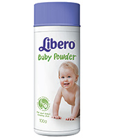 Buy Libero Baby Talcum Powder - 100 gm