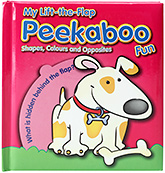 Yoyo Books My Lift The Flap Peekaboo Fun - Shapes Colours And Opposites