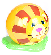 Fab N Funky Yellow Potty Trainer - Lion Print