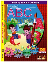 Golden Ball Animated ABC And Counting DVD