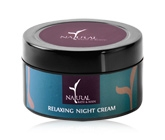 Natural Bath & Body Night Cream - Relaxing