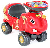Buy Toyzone Musical Manual Red RideOn Happy Jumbo - Upto 35 Kg