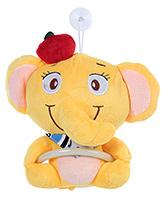 Fab N Funky Elephant Shape Napkin Hanger - Yellow