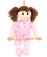 Fab N Funky Napkin Hanger - Doll In Dungaree