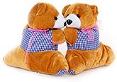 Buy Fab N Funky Teddy Pattern Curtain Tieback - Brown