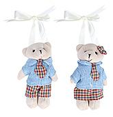 Buy Fab N Funky Teddy Bear In School Uniform Curtain Tieback