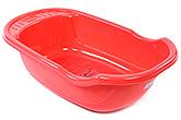 Fab N Funky Red Bath Tub - Baby Print