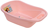 Fab N Funky Peach Bath Tub - Teddy Bear Print