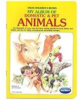 Buy NavNeet My Album Of Domestic And Pet Animals - English