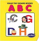 Buy NavNeet Vikas Tiny Board Books ABC - English