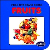Buy NavNeet Vikas Tiny Board Books Fruits - English