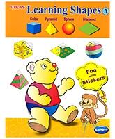 Buy NavNeet Vikas Learning Shapes Part 3 - English