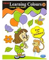 Buy NavNeet Vikas Learning Colours Part 3 - English
