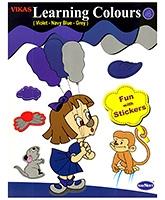 Buy NavNeet Vikas Learning Colours Part 4 - English