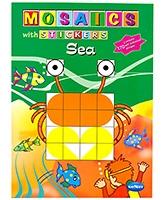 Buy NavNeet Mosaics With Stickers Sea - English