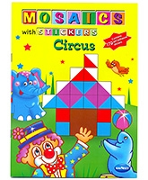 Buy NavNeet Mosaics With Stickers Circus - English