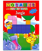 Buy NavNeet Mosaics With Stickers Jungle - English