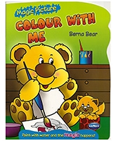 NavNeet Magic Picture Colour With Me Berna Bear - English