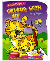 NavNeet Magic Picture Colour With Me Terry Tiger - English