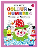 Buy NavNeet Fun With Colour By Numbers Part 1 - English