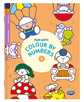 Buy NavNeet Fun With Colour By Numbers Part 2 - English