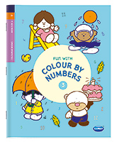 Buy NavNeet Fun With Colour By Numbers Part 3 - English