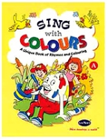 Buy NavNeet Sing With Colour Part A - English