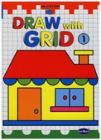 Buy NavNeet Draw With Grid Part 1 - English