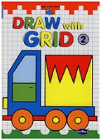 Buy NavNeet Draw With Grid Part 2 - English