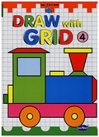 Buy NavNeet Draw With Grid Part 4 - English