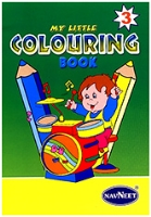 NavNeet My Little Colouring Book Part 3 - English