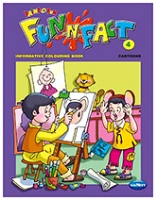 Buy NavNeet Fun N Fact Cartoons Part 4 - English