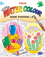 NavNeet Vikas Learn Water Colour Basic Painting Part 2 - English
