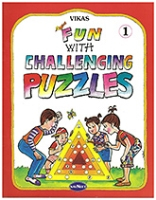 Buy NavNeet Vikas Fun With Challenging Puzzles Part 1 - English