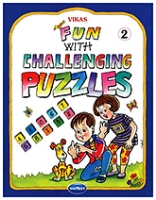 Buy NavNeet Vikas Fun With Challenging Puzzles Part 2 - English