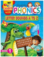 Dreamland Learn With Phonics Letter Sounds A To Z Book 1 - English