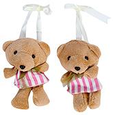 Buy Fab N Funky Teddy Bear with Dress Pattern Curtain Tieback