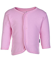 Child World Pink Full Sleeves Plain Vest