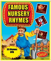 Bento Famous Nursery Rhymes DVD - English