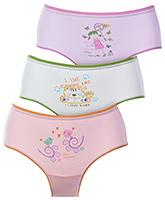 Bodycare Multicolor Panties - Set Of 3