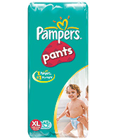 Pampers Diaper Pants Extra Large 12 kg Plus - 48 Pieces