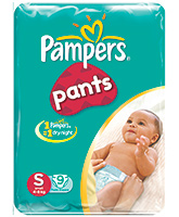 Pampers Pants Small - 9 Pieces
