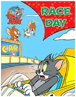 Sterling Tom And Jerry Race Day English Story Book