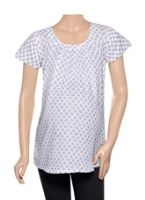 Uzazi Maternity Wear Casual Cap Sleeve Top